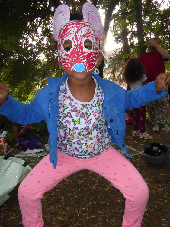 Nature perfume free family event West Norwood Lambeth London-12