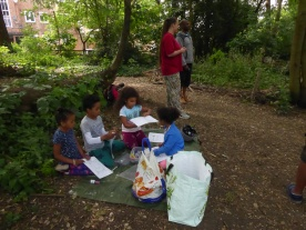 Nature perfume free family event West Norwood Lambeth London-7