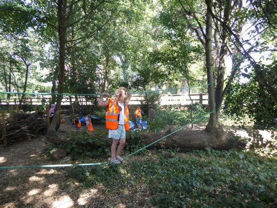 Free family woodland activity West Norwood Lambeth London-9