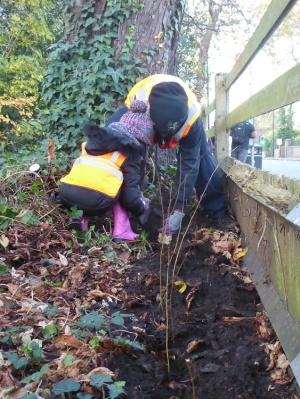 Free family forest school West Norwood Lambeth London-13